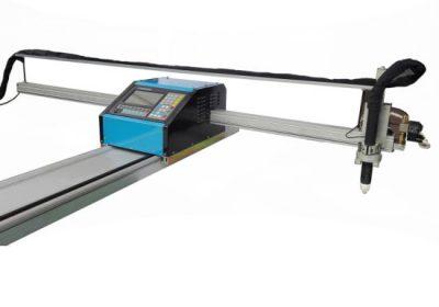 prenosni CNC plamen / plazma rezanje mašina čelika 8mm CNC metalna mašina za sečenje bronze bakra