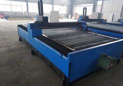 CNC kiseonik plinski pneumatski prenosni CNC plamen / plazma rezanje mašina