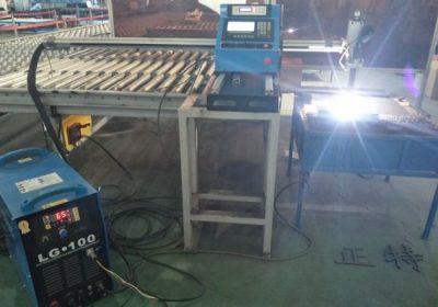 Automatski gantarski tip CNC plazma rezač mašina / ploča lim ploče