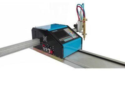 prenosni CNC plazma plamen stroj za rezanje plazme JX-1530